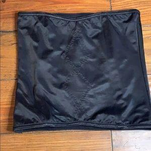 Victoria's Secret black corset large